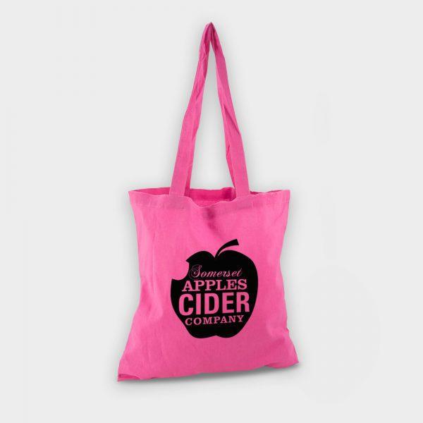 Reybridge Coloured Cotton Shopper Pink