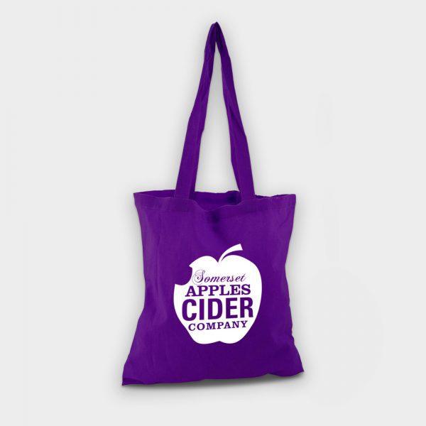 Reybridge Coloured Cotton Shopper Purple