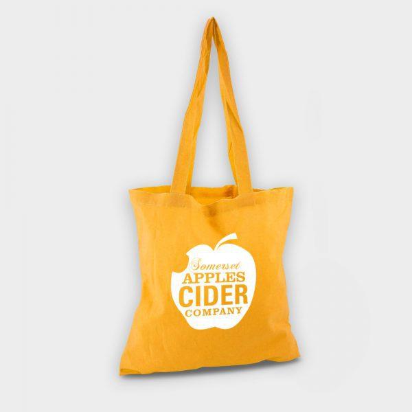Reybridge Coloured Cotton Shopper Yellow