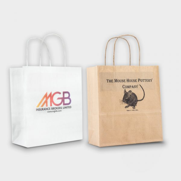 Sustainable Paper Carrier Bag Small