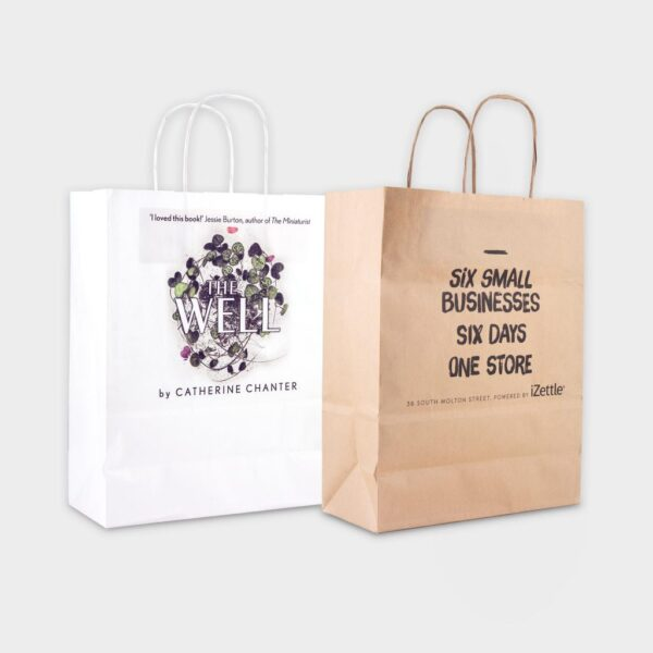 Sustainable Paper Carrier Bag Medium