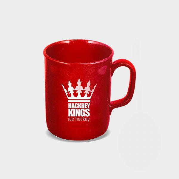red Recycled Mug