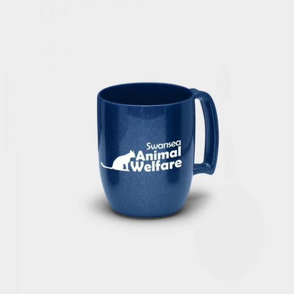 Atworth Recycled Coffee Mug Blue