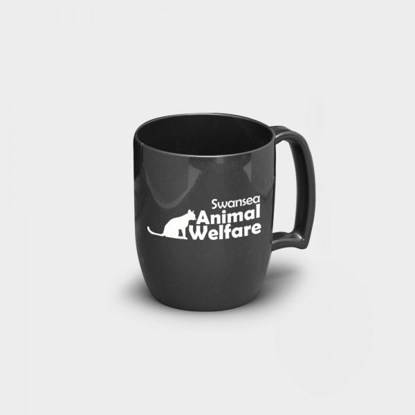 Atworth Recycled Coffee Mug Black
