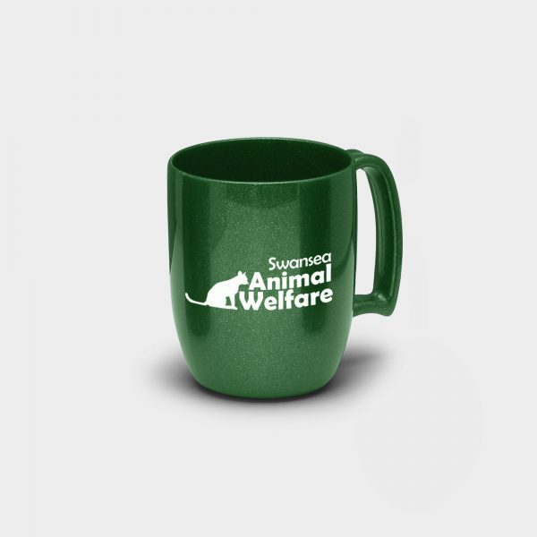 Atworth Recycled Coffee Mug Green