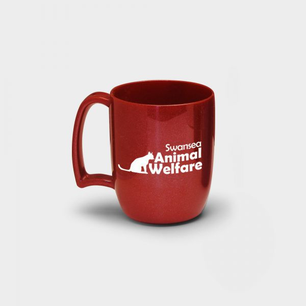 Atworth Recycled Coffee Mug Red