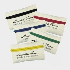Organic Cotton Pencil Case
