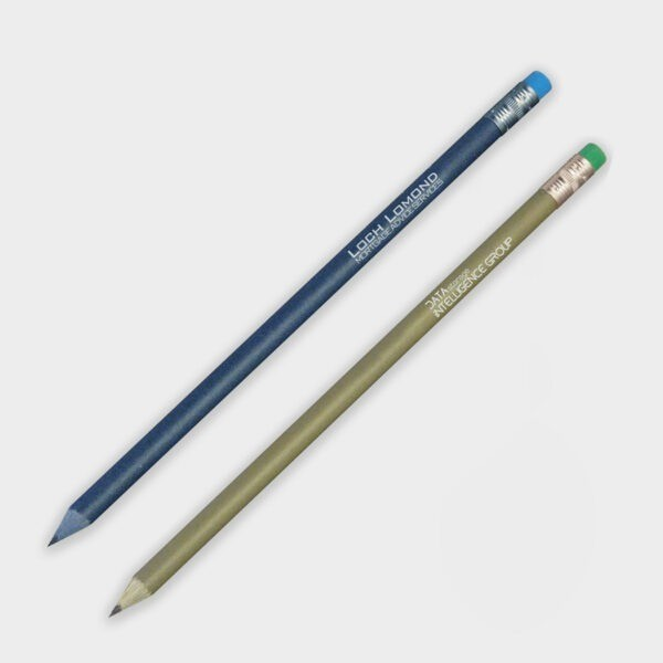 Eco-Freindly, Recycled Branded Promotional Product : Recycled Money & Denim Pencil