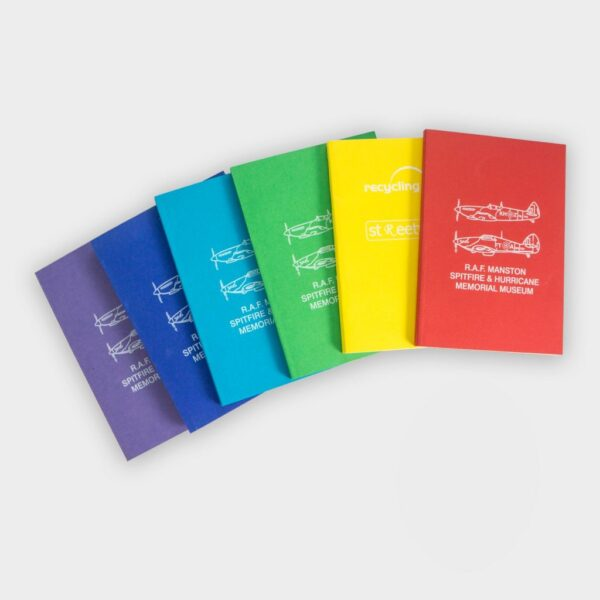 Recycled Till Receipt Perfect Bound Notebooks A4