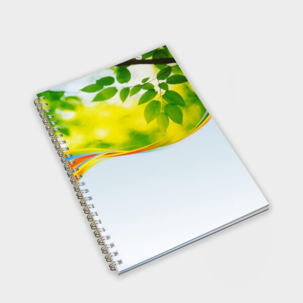 Wiropad with recycled card cover A5