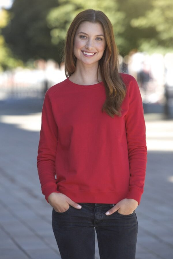 O83001 Ladies Sweatshirt - Red