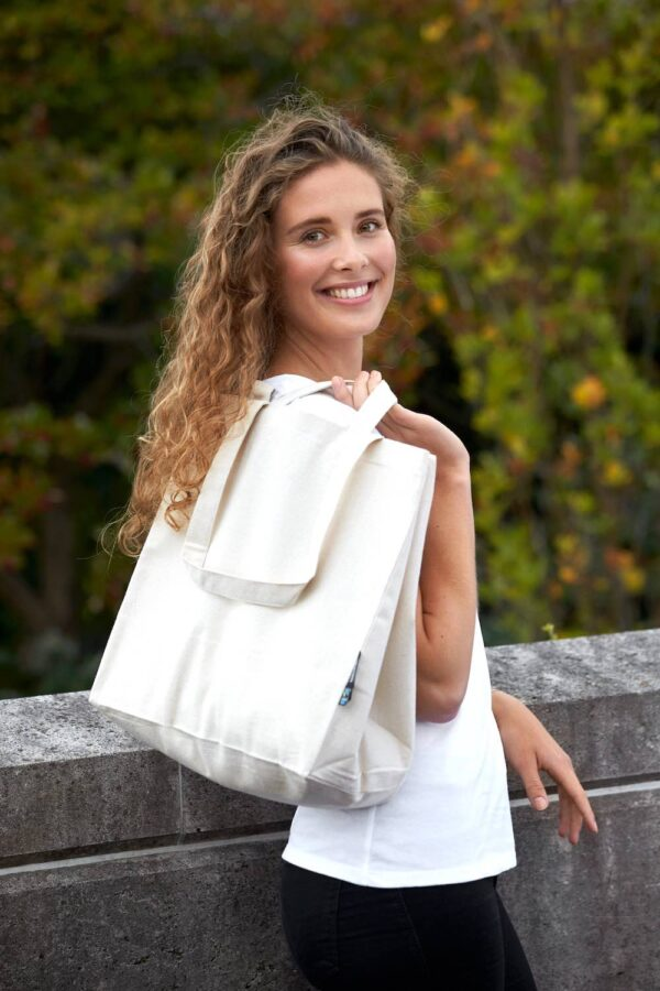 Bag w. Multiple Handles - Natural