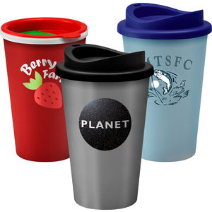 branded promotional thermal mug