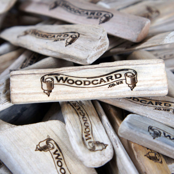Branded promotional Driftwood Tag